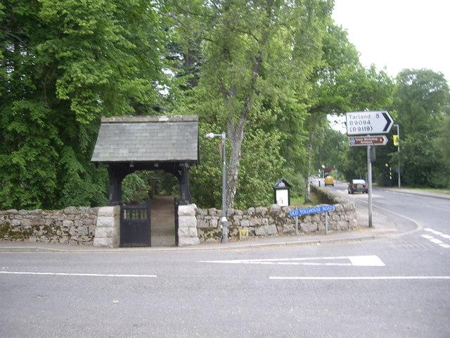 Lych Gate, St Thomas Church