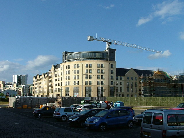 Housing development at Newhaven