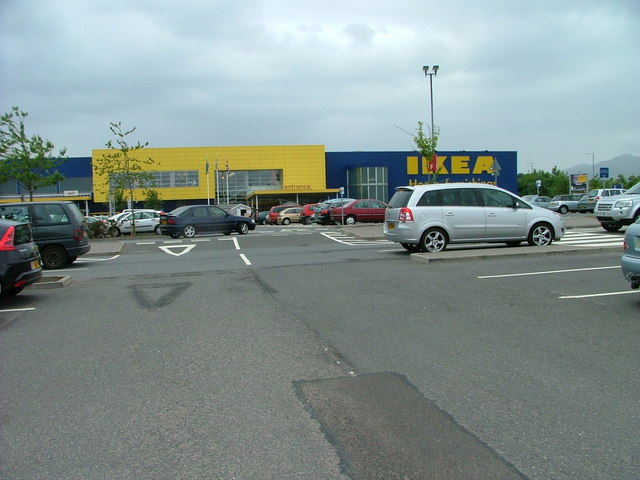 Car park at Ikea