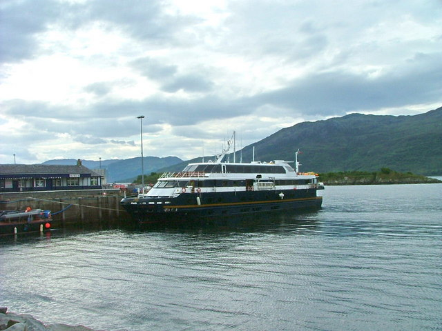 Lord of the Glens at Kyle of Lochalsh