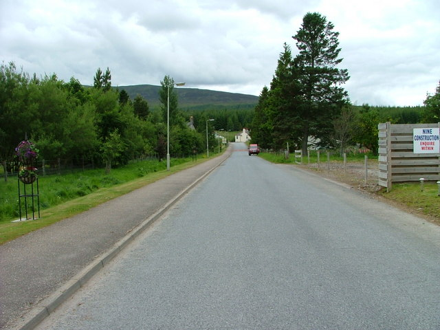 Station Road, Dalwhinnie