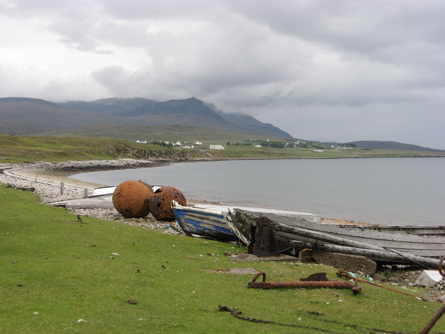 Boats and Buoys at Badentarbet