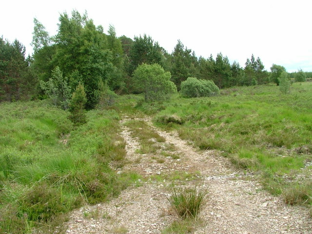 Track to Loch Caoldair