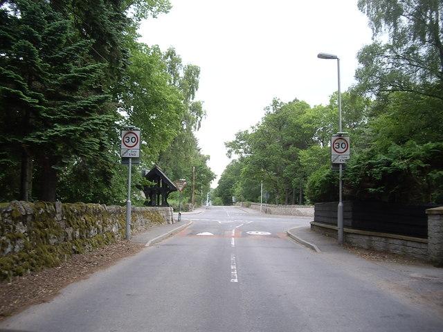 Old Tollhouse Road, Aboyne