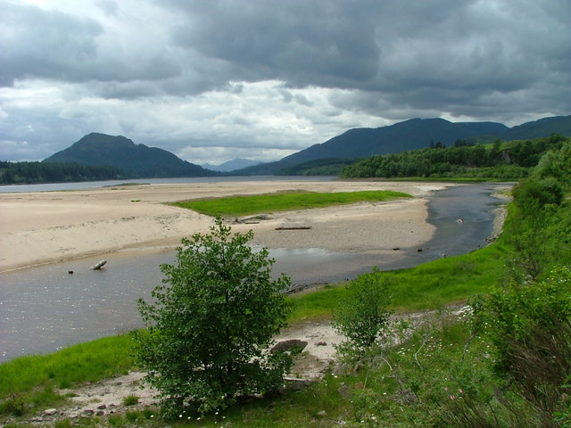 Beach at Kinloch Laggan