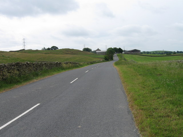 B6254 near Low Audlands