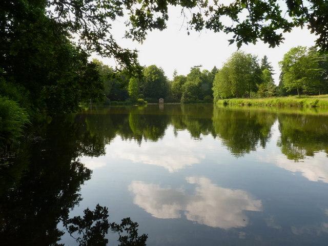Temple Pool, Weston Park