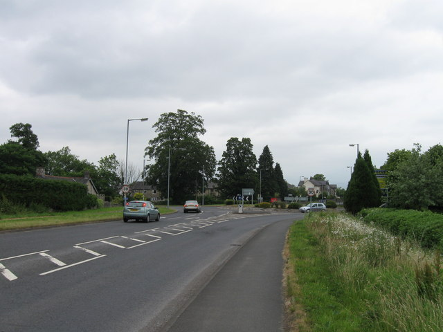 Roundabout on the A65
