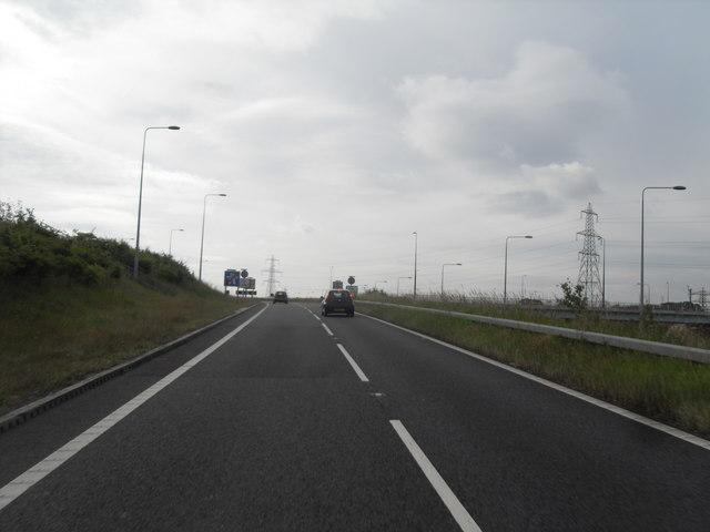 Slip Road - Junction 8 on M60