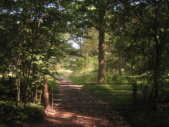 Gate into Hever Parkland