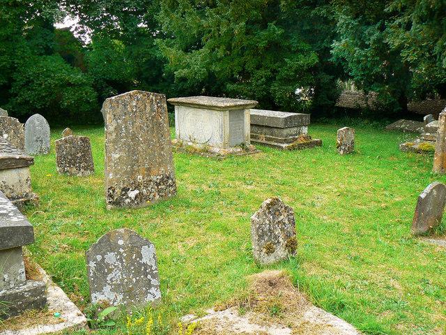 Churchyard, St Nicholas' Church, Biddestone