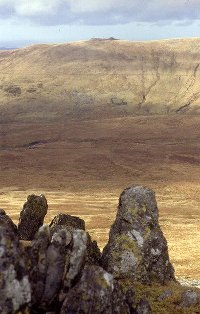 Rocks on Foel Ganol
