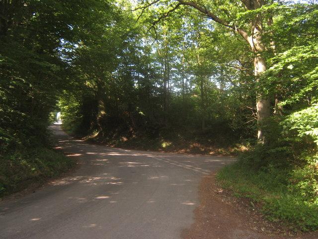 Rectory Lane and Pigdown Lane junction