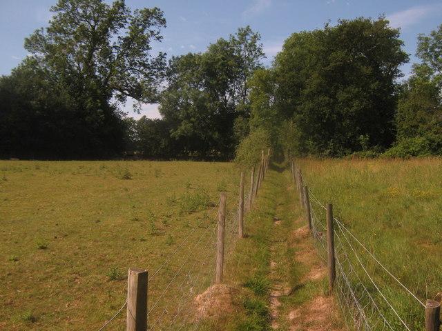 Footpath towards Hever Road