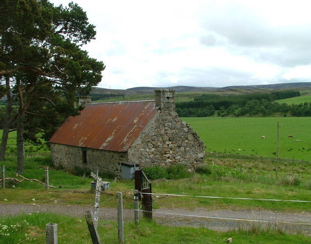 Old house at Mid Morile