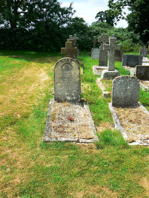 Graves, Biddestone Cemetery