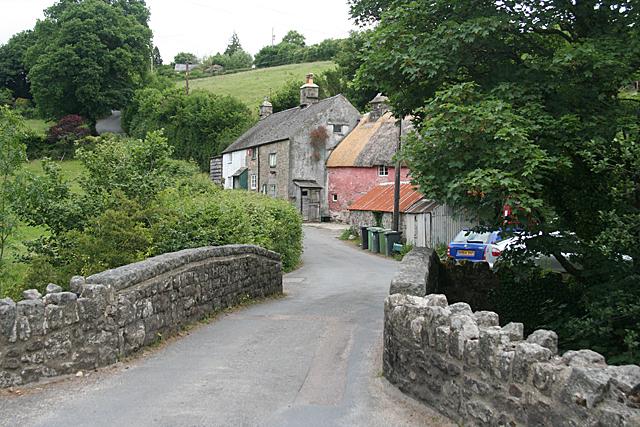 Widecombe in the Moor: Ponsworthy Bridge
