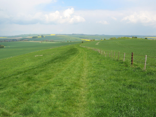 The White Horse Trail on Harestone Down