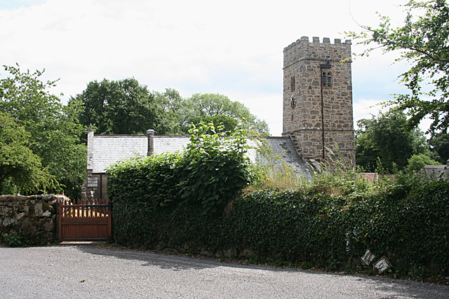 Buckland in the Moor: St Peter's church