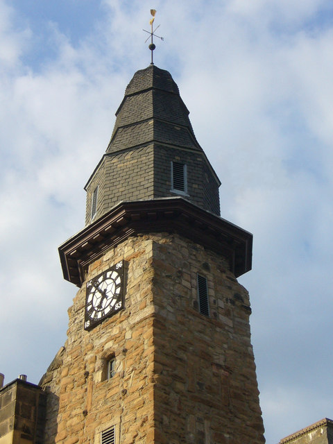 Musselburgh Tolbooth clock
