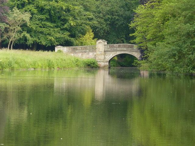 Paine's Bridge, Temple Pool