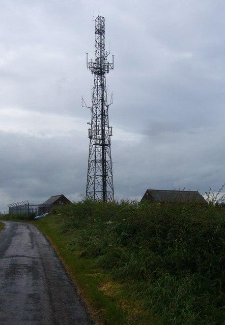 O2 transmitter, Falside Hill