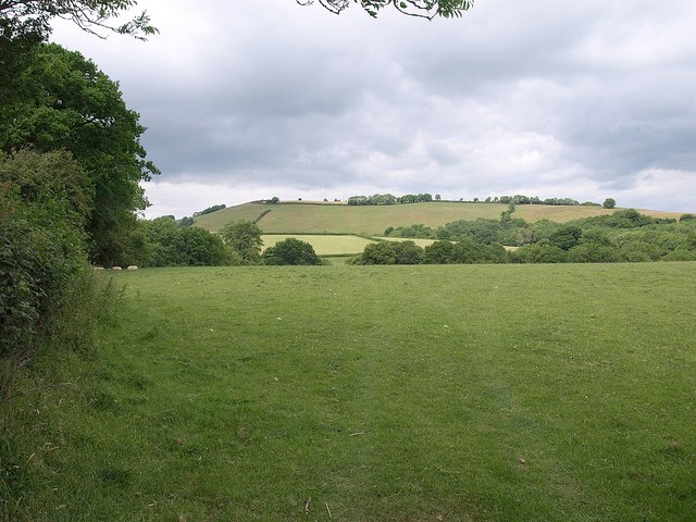 Towards Hagley Plain