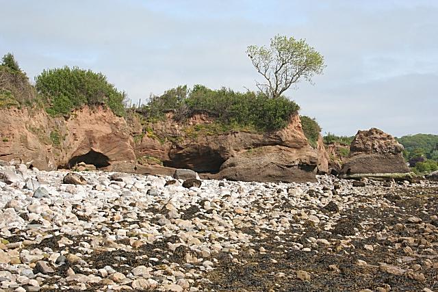 Sea Caves near Tre-Castell