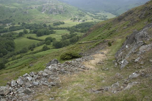 Peat road on Birker Fell