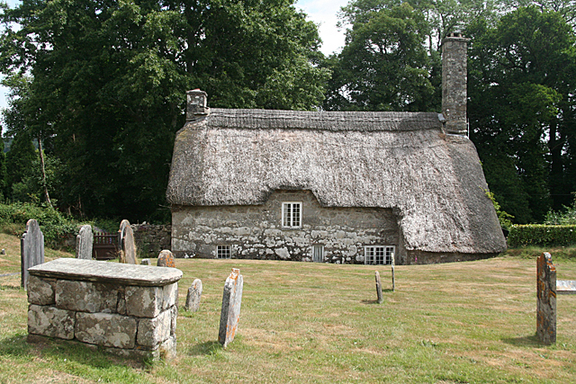 Buckland in the Moor: Church Cottage