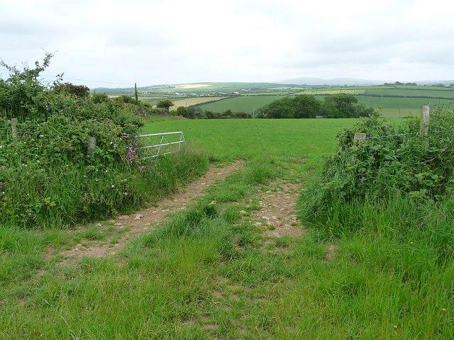 Fields near Jordanston