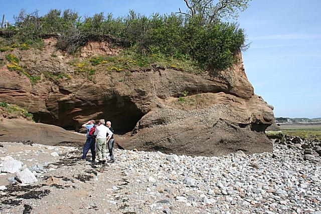Examining the Rocks