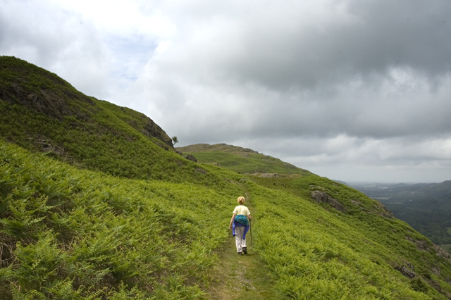 Climbing the Peat Road, Birker fell