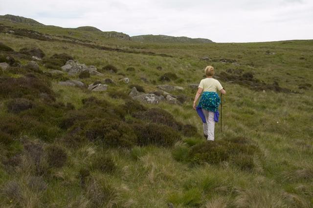 Footpath under Green Crag