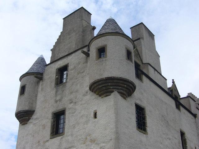 Fa'side Castle turrets