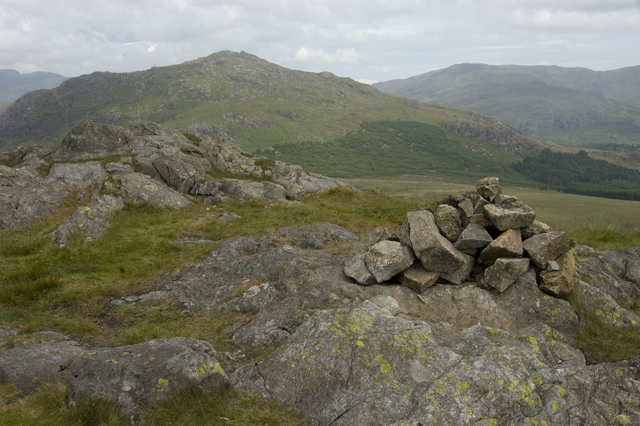 Summit cairn, Green Crag
