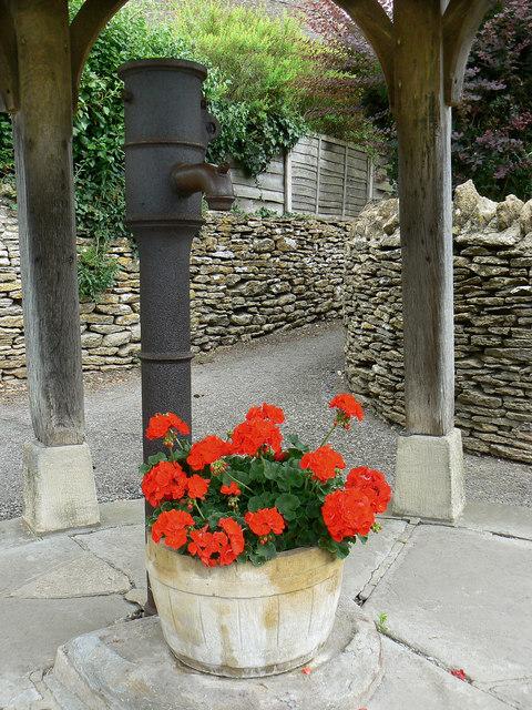 Village pump, Biddestone