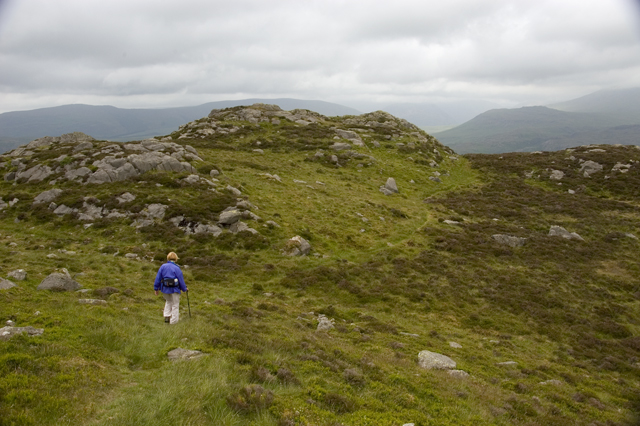 Footpath across Crook Crag