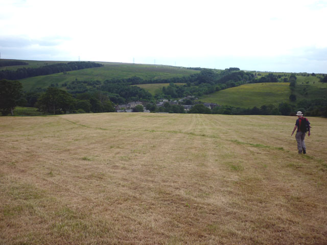 The path from Carvoran to Greenhead
