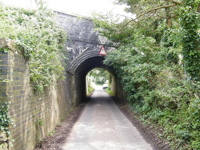 Railway bridge over Moor Lane