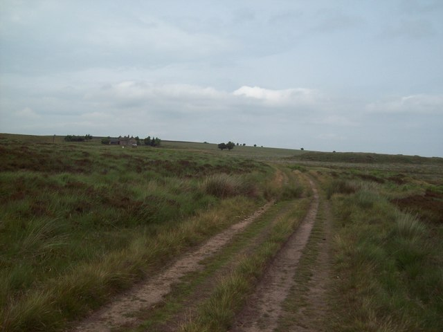 Old Service Road near Barbrook Reservoir