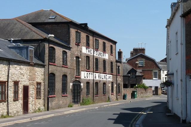 Lott & Walne Foundry, Dorchester, Dorset