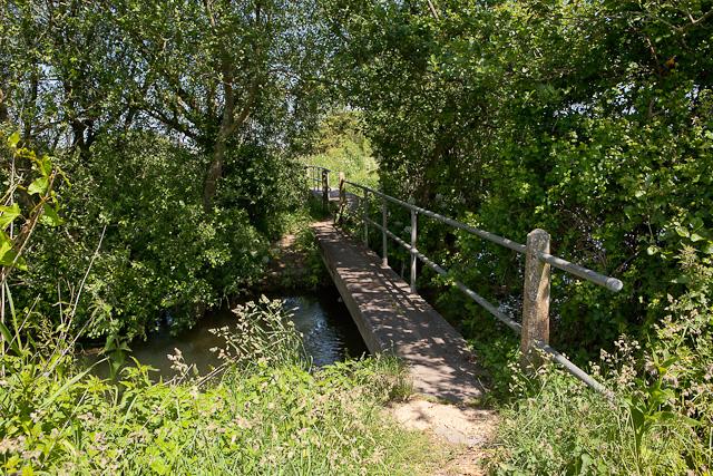 Footbridges over Bickerley Millstream