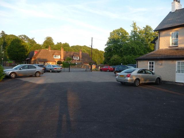 Bolham : Hartnoll Hotel Car Park