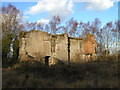SK0513 : Remains of Beaudesert Hall, Cannock Wood by John Brightley
