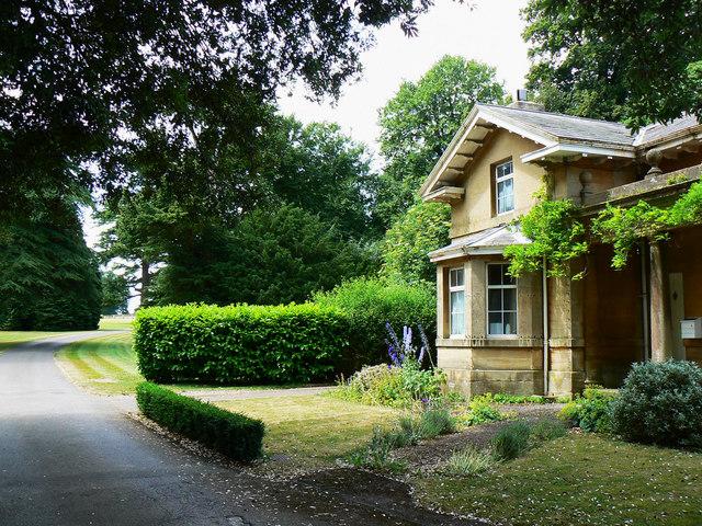 Entrance to Hartham Park, Corsham