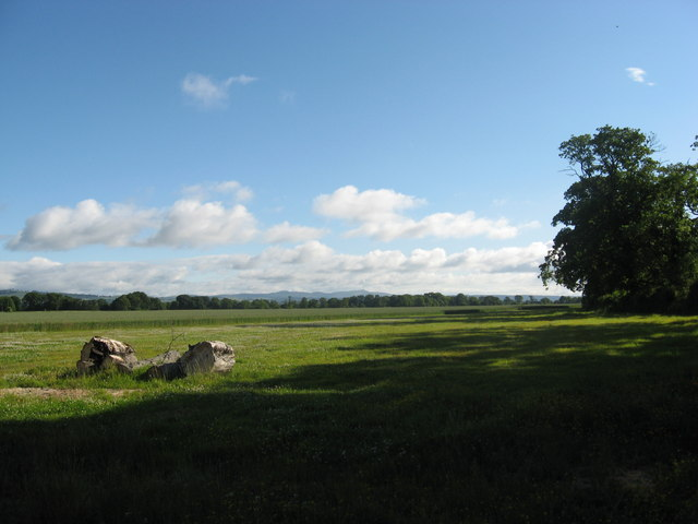 Arable field at Seaside in the Carse of Gowrie