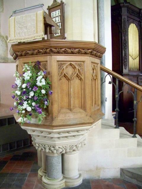 Interior, All Saints Church