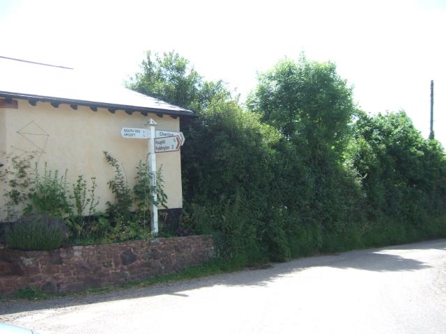 Leys Cross road junction
