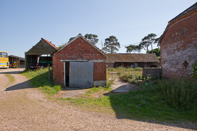 Disused buildings on Kingston Farm